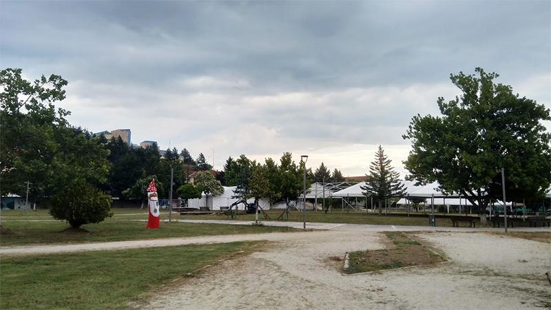 Ετοιμασία του πάρκου Μανιταριών πριν την Γιορτή Μανιταριού