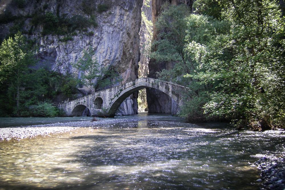 Γεφύρι Πορτίτσας στο Σπήλαιο