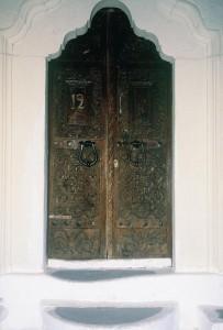 Η πόρτα του Αγίου Γεωργίου