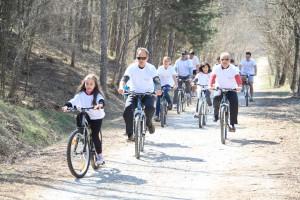 Μικροί και μεγάλοι ποδηλάτες σε δράση