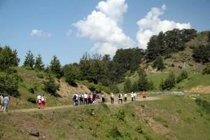 Ομάδα Περιπατητών στο πλαίσιο οργανωμένης πεζοπορίας του Εθνικού Πάρκου Βόρειας Πίνδου