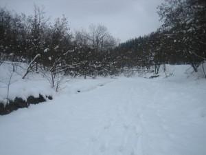Το τοπίο στο Καστράκι είναι πανέμορφο όλες τις εποχές του χρόνου