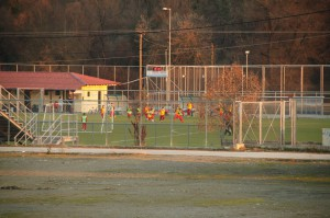 Γήπεδο ποδοσφαίρου - Προπόνηση μικρών αθλητών