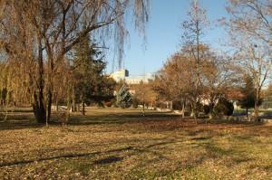 Φθινοπωρινή όψη της περιοχής απέναντι από το Διοικητήριο