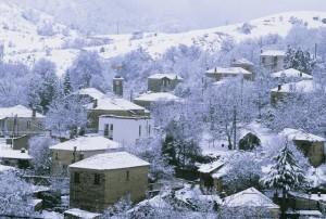 Το Δασύλλιο χιονισμένο