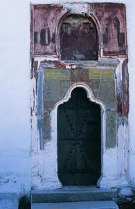 Η πύλη της Μονής
