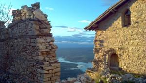 Η θέα προς τη λίμνη του Ιλαρίωνα